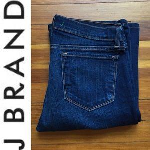 J BRAND Bootcut Dark Wash Denim Jeans